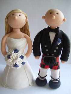 cheeky scottish wedding cake toppers 1000 images about cake toppers on cake 12550