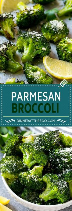 Parmesan Roasted Broccoli Recipe | Roasted Broccoli | Healthy Broccoli Recipe | Parmesan Broccoli | Easy Broccoli Recipe