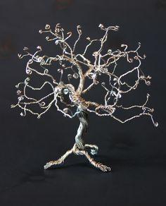 DIY: järntrådsträd/ Ironwire tree  inspirami.blogg.se