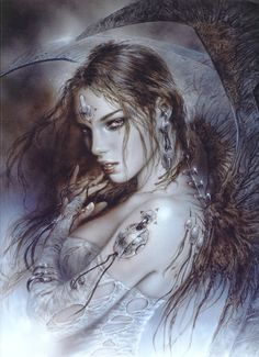 luis royo art | Luis Royo is a Spanish artist par excellence and has published his art ...