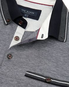 Oxford polo - Navy | Tops & T-shirts | Ted Baker UK
