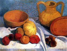 Paula Modersohn-Becker - Still Life with clay jug