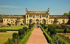 A man made wonder and a complete offbeat destination, the Gravity Defying Palace at Lucknow