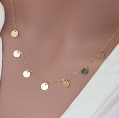 Popular disc necklaces 😊😊😊