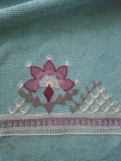 needle embroidery 8 - My Recommendations Hairpin Lace, Fabric Yarn, Lace Fabric, Embroidery Fabric, Embroidery Designs, Shabby, Doilies Crafts, Unique Anniversary Gifts, Drawn Thread