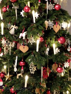 Swedish Christmas tree ~ Julgran