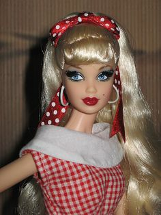 Hello Kitty Barbie; not in original fashion. By Mattel