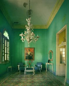 Cuba, so beautifully depicted here by photographer Michael Eastman...