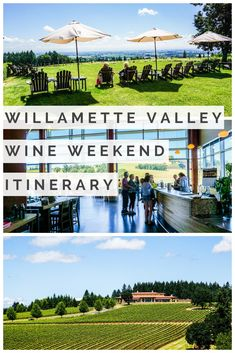 Oregon Wine Country - A Weekend in Willamette Valley. The secret of Oregon wine country has slowly been getting out. See my weekend itinerary to learn the best restaurants, Willamette Valley wineries & more! Oregon Road Trip, Oregon Travel, Oregon Vacation, Road Trips, Mcminnville Oregon, Oregon Wine Country, Willamette Valley, Napa Valley, In Vino Veritas