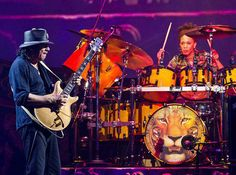 While on tour with Carlos Santana (who was also Blackman's boyfriend) in July 2010, Cindy received a proposal - on stage - from the Latin rock legend. Description from drummerworld.com. I searched for this on bing.com/images