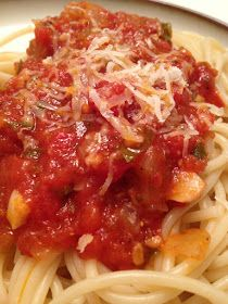 A Healthy Makeover: Pomodoro Sauce