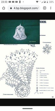 Crochet Ornaments, Christmas Crochet Patterns, Crochet Snowflakes, Crochet Doily Patterns, Crochet Doilies, Crochet Stitches, Crochet Ball, Cute Crochet, Knit Crochet