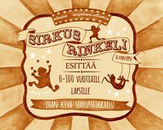 Sirkus Rinkeli lasten sarjakuva-albumi