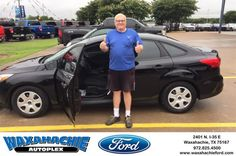 Happy Anniversary to Bruce on your #Ford #Focus from Justin Bowers at Waxahachie Ford!  https://deliverymaxx.com/DealerReviews.aspx?DealerCode=E749  #Anniversary #WaxahachieFord