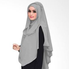 (Kus Group Hijab Oki Panjang Kerudung Syar'I - Abu) Online - Harga (Rp 150,000), Beli Produk Terbaru di Blibli.com, Kualitas Terjamin, Cicilan 0% & Gratis Ongkir.