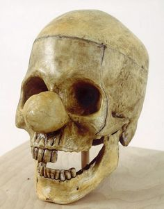 Crânio de um palhaço