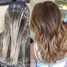 """112 Likes, 12 Comments - Hair Color Specialist ✂️ (@balayagehaircolor) on Instagram: """"Caramel balayage highlights. Perfect fall colors! #balayage #balayagedenver #balayagedandpainted…"""""""