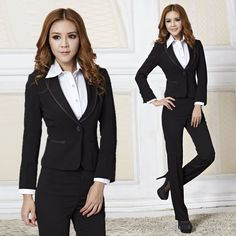 cd7d6ddf3d Yutai women s taoku work wear set ol fashion women s business formal slim  suit work wear-