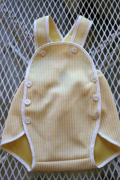 handmade vintage-style baby jumper