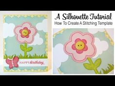A Silhouette Tutorial: How To Create a Stitching Template ~ #Cute