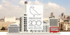 Royal Doulton Little London by Charlene Mullen. Royal Doulton, established in 1815, celebrates 200 years of quality craftsmanship and innovation this year! This world famous company began as a small pottery on the banks of the Avon River that specialized in utilitarian wares.