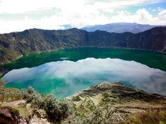 Cuicocha - crater rock