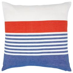 Lake Stripe Pillow b