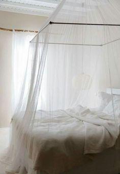 White Bedroom, Canopy -  Céleste ~ Celestial