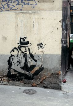Before Banksy, there was Blek Le Rat..