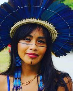 Tribal People, Tribal Women, Beauty Around The World, People Around The World, Rainforest Tribes, Amazon People, Cherokee Woman, Beautiful People, Beautiful Women