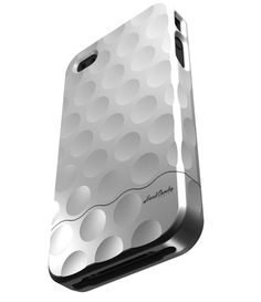 Hard Candy iPhone 4 Bubble Slider Chrome Collection...it looks like a golf ball! Lol!