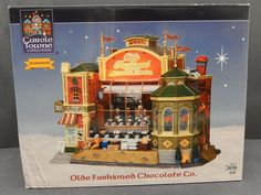 2009 Lemax Carole Towne Collection Olde Fashioned Chocolate Co Animated  $62.97             1938