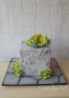 Geode Rock cake by Jana Candy Art