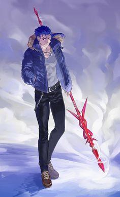 Fate クーフーリン 槍ニキ