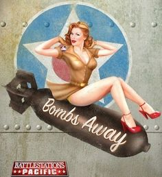 Pin Up Girl..want to do this one for kyle!