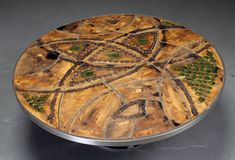Poul Cadovius, Lilly Just Lichtenberg Circular Coffee Table For Sale at 1stdibs