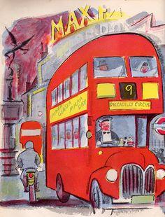 London red double-decker