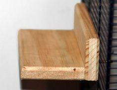 A nice tutorial to make chinchilla ledges