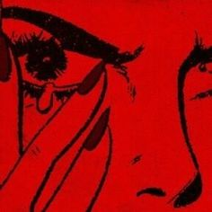 red-tipped tears