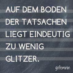 #glitzer #spruch #zitat