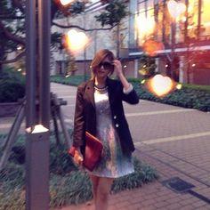 One piece.STYLESTALKER  Bag.CARVEN  Heels.Christian Louboutin  Sunglasses.Miu Miu