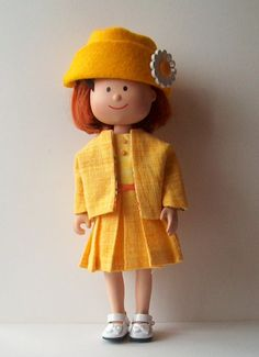 Doll Clothes Jacket and Dress for Tiny Betsy by GrandmasBliss, $22.00