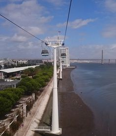 Parque Nações in Lisbon. Cutting edge architecture, the aquarium and the Telecabin | Mooistestedentrips.nl