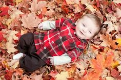 Fall Photography - Baby