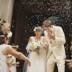 Against the Grain: Alternatives to Throwing Rice at Weddings