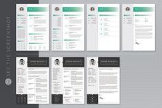 MS Word Resume Bundle by WhiteGraphic on @creativemarket Student Resume Template, Modern Resume Template, Creative Resume Templates, Cover Letter For Resume, Cover Letter Template, Infographic Resume, Portfolio Resume, Resume Words, References Page