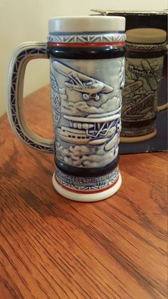 Ceramic Avon Stein by CnWsTexasTreasures on Etsy