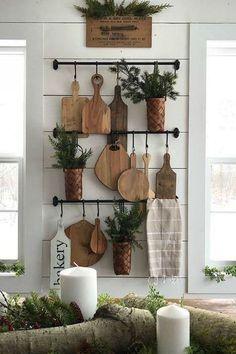 Impressive 32 The Best Farmhouse Kitchen Decor Ideas