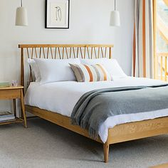 Ercol For John Lewis Chiltern Bedstead, Oak, Kingsize