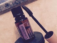 Try 2 drops of lavender in your mascara. It helps relieve my itchy eyes.